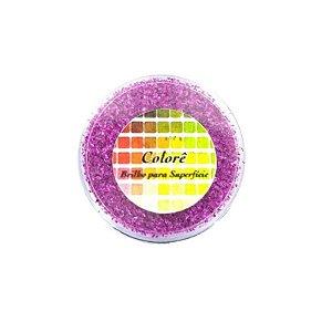Brilho para superficie, Gliter Rosa Escuro 26PP 1,5g LullyCandy Rizzo Confeitaria
