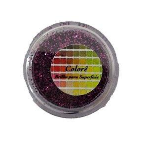 Brilho para superficie, Gliter Viúva Negra 1,5g LullyCandy Rizzo Confeitaria