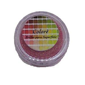 Brilho para superficie, Gliter Goiaba 18PP 1,5g LullyCandy Rizzo Confeitaria