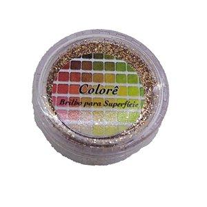 Brilho para superficie, Gliter Mascavo 35PP 1,5g LullyCandy Rizzo Confeitaria