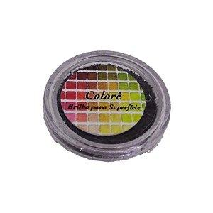 Brilho para superficie, Gliter Preto 10PP 1,5g LullyCandy Rizzo Confeitaria