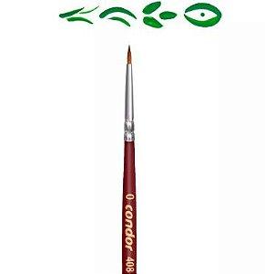 Pincel Artístico 1 un. Modelo 408-0 Condor Rizzo Confeitaria