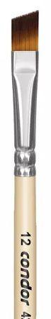Pincel Artístico 1 un. Modelo 427-12 Condor Rizzo Confeitaria