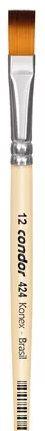 Pincel Artístico 1 un. Modelo 424-12 Condor Rizzo Confeitaria