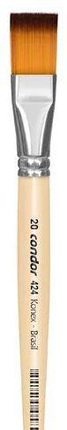 Pincel Artístico 1 un. Modelo 424-20 Condor Rizzo Confeitaria