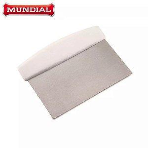 Raspador de Inox 15cm - 1un. Mundial ou Hercules Rizzo Confeitaria
