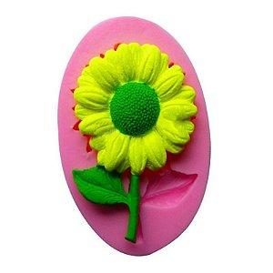 Molde de silicone Flor S272 Molds Planet Rizzo Confeitaria
