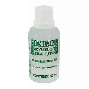 Álcool de Cereais 50 ml Emfal Rizzo Confeitaria