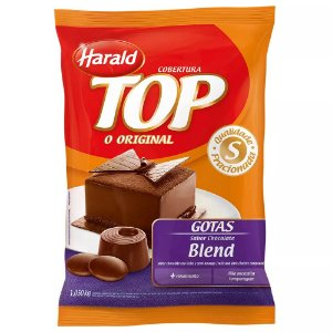 Chocolate Blend Gotas Top 1kg Harald Rizzo Confeitaria