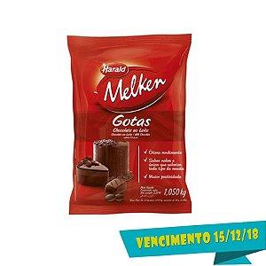 Chocolate Ao Leite Gotas Melken 1kg Harald Rizzo Confeitaria