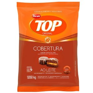 Cobertura Sabor Chocolate Ao Leite Gotas Top 1kg Harald Rizzo Confeitaria