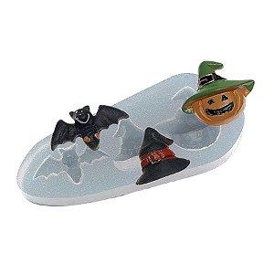 Molde de Silicone Halloween Ref. 430 Flexarte Rizzo Confeitaria