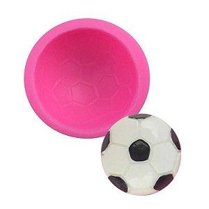 Molde de silicone Bola de Futebol S287 Molds Planet Rizzo Confeitaria