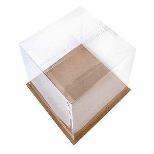 Caixa para Bolo Kraft 24 cm Eluhe Rizzo Confeitaria