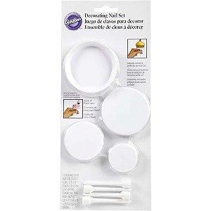 Kit Bases para Flores e CupCakes Wilton Rizzo Confeitaria