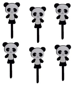 Tag Panda com 6 un. Vivarte Rizzo Confeitaria