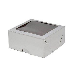 Caixa S16 Branca com Visor 10 un. Assk Rizzo Confeitaria