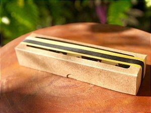 Caixa S13 Kraft com Visor 10 un. Assk Rizzo Confeitaria