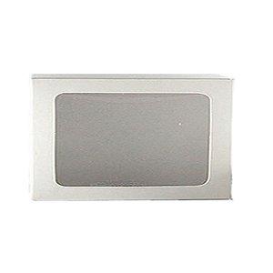 Caixa S18 Branca com Visor 10 un. Assk Rizzo Confeitaria