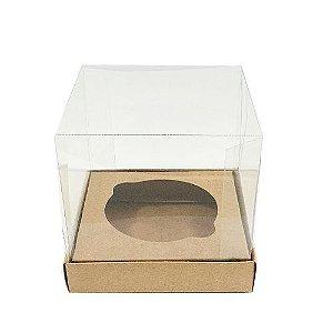 Caixa Mini Bolo M Kraft 10 un. Assk Rizzo Confeitaria