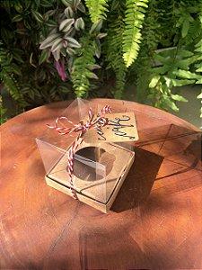 Caixa Mini Bolo G Kraft 10 un. Assk Rizzo Confeitaria