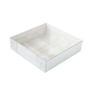 Caixa Nº 6 Branca com Berço 10 un. Assk Rizzo Confeitaria