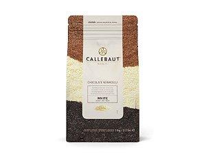 Chocolate Callebaut Branco Vermicelli Granulado 1 kg Rizzo Confeitaria