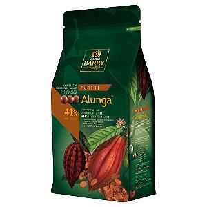 Chocolate Alunga 41% Gotas 1 Kg Cacao Barry Rizzo Confeitaria