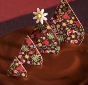 Transfer para Chocolate Natal TRN 8040 Stalden Rizzo Confeitaria