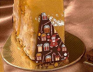 Transfer para Chocolate Natal TRN 8039 Stalden Rizzo Confeitaria