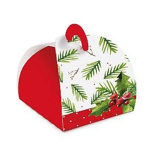 Caxia Bem Casado Natal Tradição Cromus 24 unidades Rizzo Confeitaria