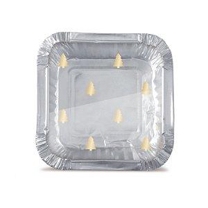 Mini Marmitinha Natal Sofisticado Cromus 12 unidades Cromus - Rizzo Confeitaria