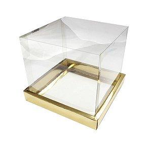 Caixa Panetone Ouro 500G com 5 un Assk Rizzo Confeitaria