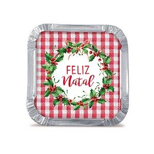 Mini Marmitinha Natal Tradição Cromus 12 unidades Cromus - Rizzo Confeitaria