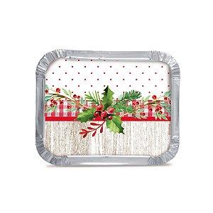 Marmitinha de Natal Tradição Cromus 12 unidades Rizzo Confeitaria