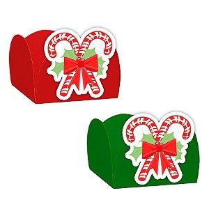 Forminha para Doces com Aplique Natal Bengalinha 24 unidades Rizzo Confeitaria