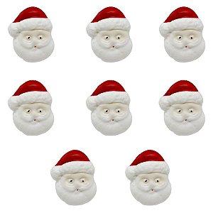 Confeitos Comestíveis Papai Noel Ref.13N - 8 unidades Jeni Joni Rizzo Confeitaria