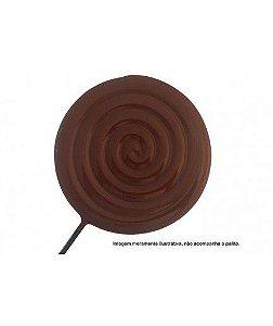 Forma de Acetato Pirulito Caracol Grande 9467 BWB Rizzo Confeitaria