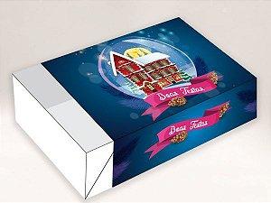 Caixa Divertida Casa Boas Festas 6 doces com 10 un. Erika Melkot Rizzo Confeitaria