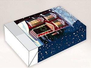 Caixa Divertida Casa de Neve 6 doces com 10 un. Erika Melkot Rizzo Confeitaria