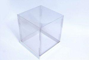 Caixa para Panetone 250g Branca 12 cm com 5 un. Eluhe Rizzo Confeitaria