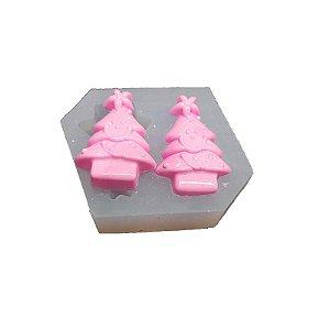 Molde de silicone Árvore de Natal Ref. 164 Flexarte Rizzo Confeitaria