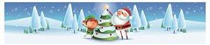 Cinta Mini Panetone Noel Árvore com 5 un. Erika Melkot Rizzo Confeitaria