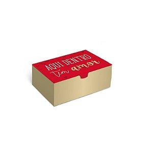 Caixa Divertida Amor 6 doces com 10 un. Cromus Rizzo Confeitaria