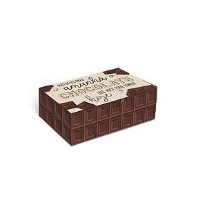 Caixa Divertida Chocolate 6 doces com 10 un. Cromus Rizzo Confeitaria
