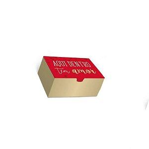 Caixa Divertida Amor 4 doces com 10 un. Cromus Rizzo Confeitaria