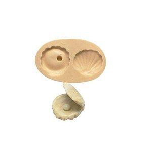 Molde de Silicone Concha S374 Molds Planet Rizzo Confeitaria