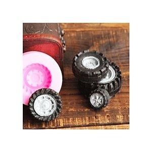 Molde de Silicone Pneu S368 Molds Planet Rizzo Confeitaria