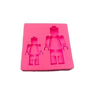 Molde de Silicone Lego S395 Molds Planet Rizzo Confeitaria