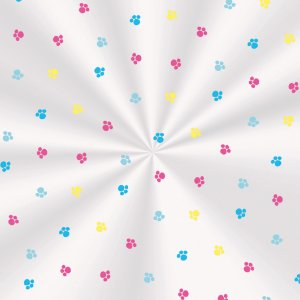 Saco Transparente 10 X 14 Fantasia Colorida com 100 un. Cromus Rizzo Confeitaria